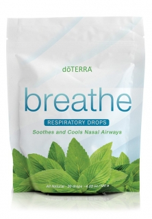 Breathe respiratory drops - bonbóny s breathe